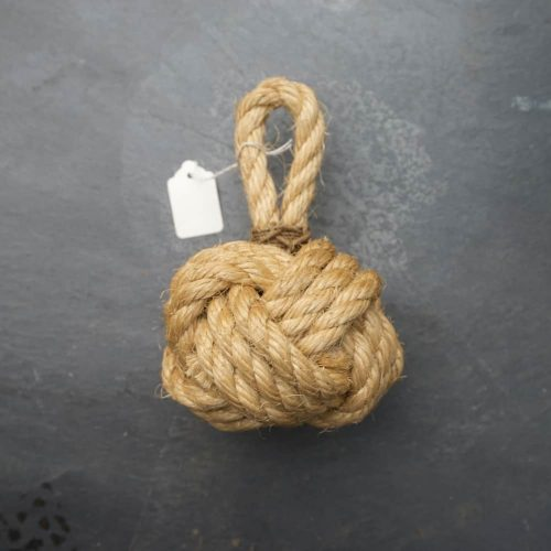 Mini Light Turks Head Rope Decoration