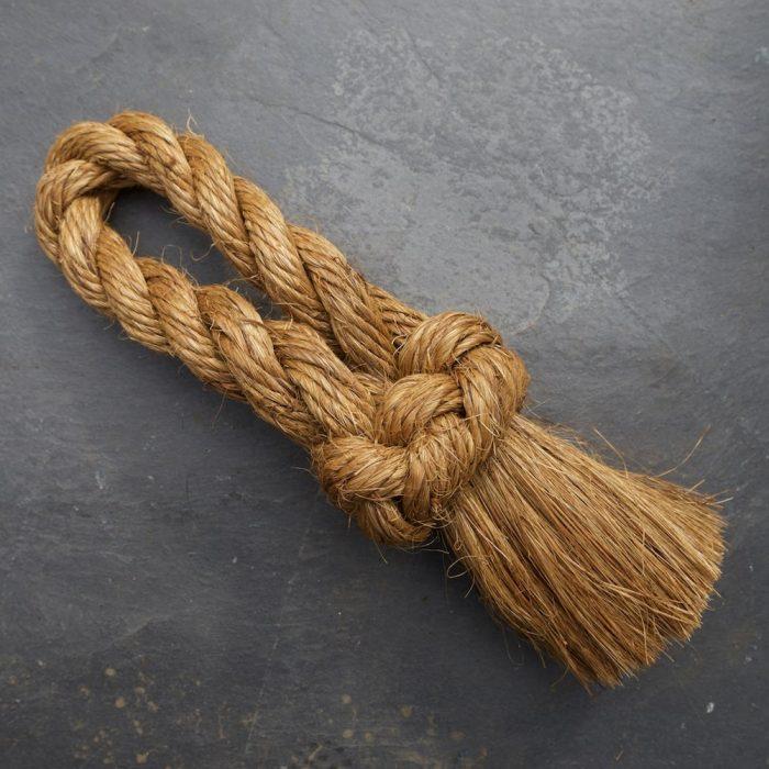 Rope Hearth Brush