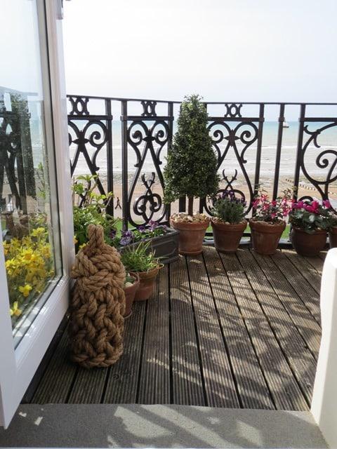 Sussex balcony tall door stop