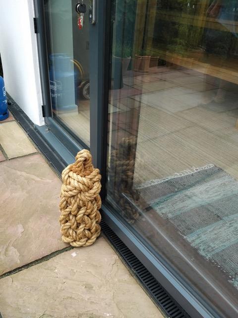 Tall outside door stop in Dorset