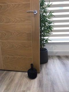 charcoal grey internal door stop